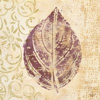 Leaf Scroll III Fine Art Print
