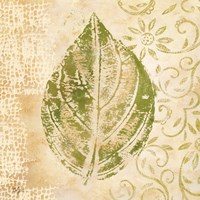 Leaf Scroll IV Fine Art Print