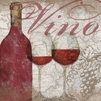 Vino and Vin I Fine Art Print