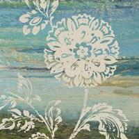 Blue Indigo w/Lace II Fine Art Print