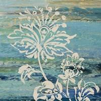 Blue Indigo w/Lace III Fine Art Print