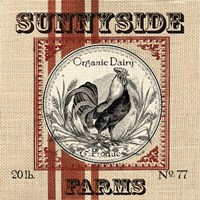 Organic Farm IV Framed Print