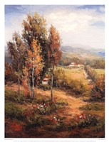 Valle Salerno Fine Art Print