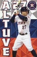 Houston Astros™ - J Altuve 15 Wall Poster