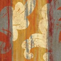 Tapestry Stripe Square II Framed Print