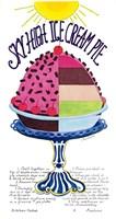 Sky High Ice Cream Pie Fine Art Print