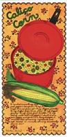 Calico Corn Fine Art Print