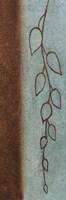 Cascading Leaves 1 Framed Print