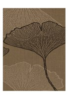 BROWN LEAVES 2 Fine Art Print