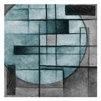Modern Circles Framed Print