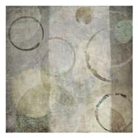 Stone Circles Mate Framed Print