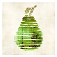 Pear Framed Print