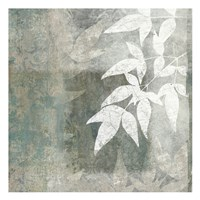 Spa Leaves 1 Framed Print