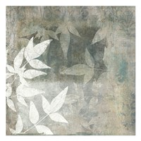 Spa Leaves 2 Framed Print