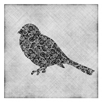 Brocade Bird 1 Framed Print