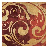 Red Gold Fine Art Print