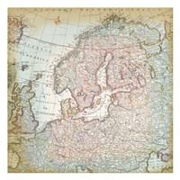 World Map 8 Fine Art Print