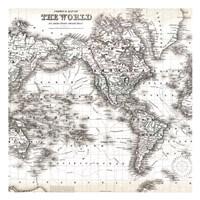 World Map 1 Fine Art Print