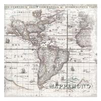 World Map 2 Fine Art Print