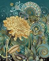 Inspired Blooms I Framed Print