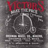 Antique Bicycle I Fine Art Print