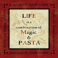 Pasta Sayings I Framed Print