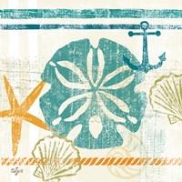 Nautical Brights II Framed Print