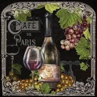 Cafe de Vins Wine II Framed Print