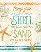 Coastal Sentiment I Framed Print