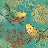 Elegant Chickadee II Framed Print