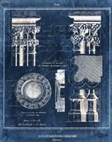Vintage Blueprints II Fine Art Print