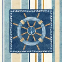 Nautical Stripe IV Framed Print