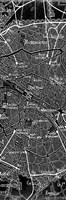 Environs Paris Black 1 Fine Art Print