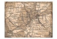 Environs Rome Beige Fine Art Print