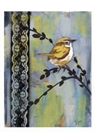 Bird Song Buds I Framed Print