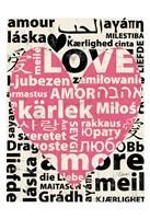 Love Lanquages 2 Fine Art Print