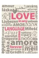 Love Lanquages 4 Fine Art Print