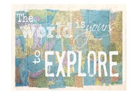 Explore Fine Art Print