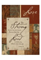 Love Inspirational 1 Framed Print
