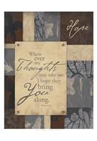 Hope 2 Framed Print