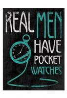 Real Men 3 Fine Art Print