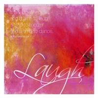Laugh Framed Print
