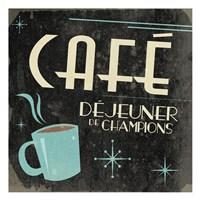 Coffee French III Framed Print