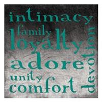 Family 2 Framed Print