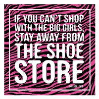 Shoe Store Framed Print