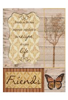 Friends Are The Best Framed Print