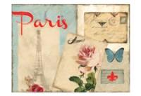 Amour Parise 2 Framed Print