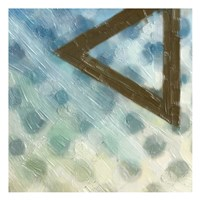 Abstract Triad III Framed Print