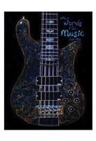 Neon Bass 1 Fine Art Print