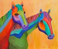 Horses of Color Fine Art Print